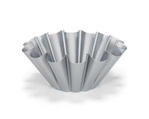 Patisse Silvertop briocheform silverfärgad - 20 cm - Hus-modern.se