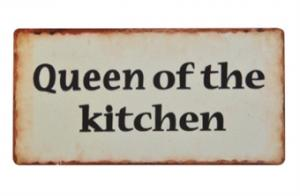 Magnet Queen of the kitchen - Hus-modern.se
