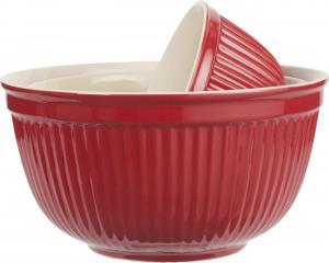 Mynte Set med keramikskålar Röd 3 st - Hus-modern.se