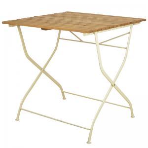 Trädgårdsbord gammeldags ihopfällbar - Hus-modern.se