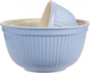 Mynte Set med keramikskålar Blå 3 st - Hus-modern.se