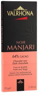 Valrhona Manjari mörk chokladkaka 64% 70 g - Hus-modern.se