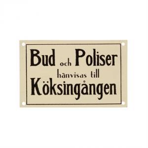 Strömshaga Plåtskylt - Hus-modern.se