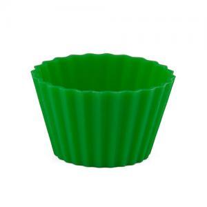 Pufz Knäckformar i silikon till julgodiset - grön 40 pack - Hus-modern.se