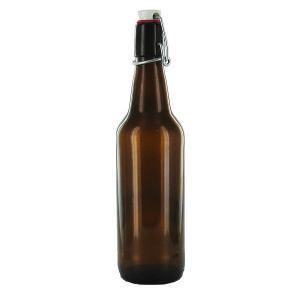 Flaska brunt glas 0,5 l - Hus-modern.se