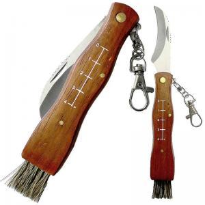 Svampkniv med borste, ihopfällbar - Hus-modern.se