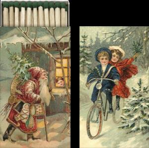 Tändsticksask - Julmotiv - Hus-modern.se