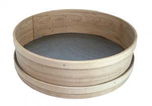 Rostfri sikt med träkant 350 mm - Hus-modern.se