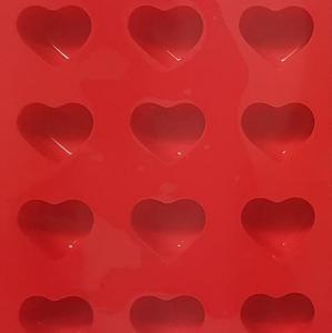 Pufz Form för praliner i silikon - hjärtformade - Hus-modern.se