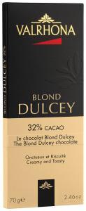 Valrhona Chokladkaka Dulcey (kolatoner) 32% 70 g - Hus-modern.se
