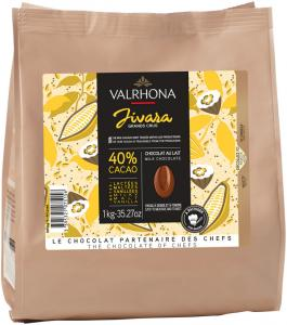 Valrhona Jivara 40% bakchoklad 1 kg - Hus-modern.se
