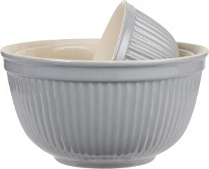Mynte Set med keramikskålar French-grey 3 st - Hus-modern.se