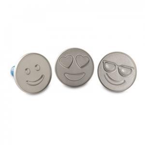 Nordic Ware Kakstämplar Emojis - 3 pack - Hus-modern.se