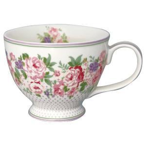 GreenGate Tekopp Rose white - Hus-modern.se