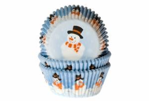 House of Marie Muffinsform - Cupcakeform Snowman - Hus-modern.se