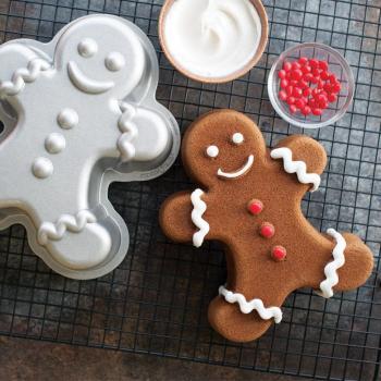 Nordic Ware Bakform Gingerbread man Bundt® Pan - Hus-modern.se