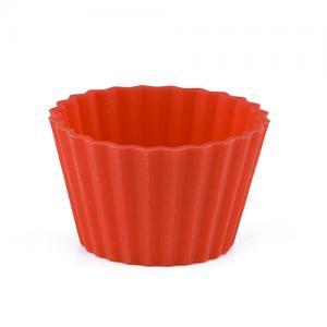 Pufz Knäckformar i silikon till julgodiset - röd 40 pack - Hus-modern.se