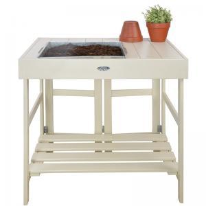 Planteringsbord vitt - Hus-modern.se