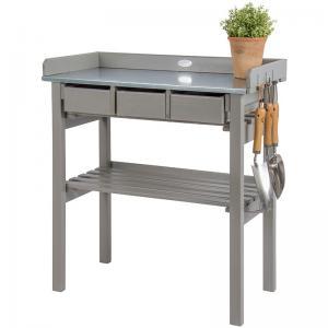 Planteringsbord Grått - Hus-modern.se