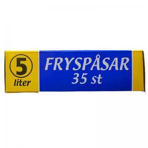 Fryspåsar 5 liter - 35 st - Hus-modern.se