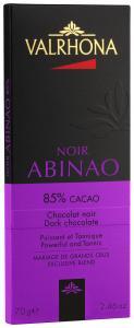 Valrhona Chokladkaka Abinao 85% 70 g - Hus-modern.se